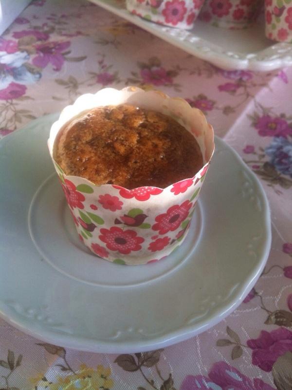 מאפינס וניל שבבי שוקולד אגוזי פקאן וסירופ מייפל